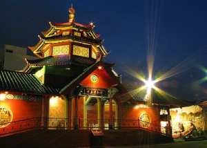 Masjid Cheng Ho Selaganggeng, Mrebet,Purbalingga, Jateng Malam