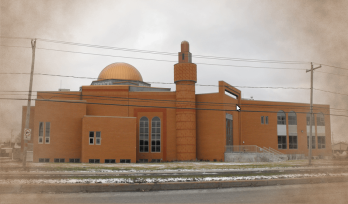 Montreal South Shore AlQuba Mosque in Brossard, Qc, Canada